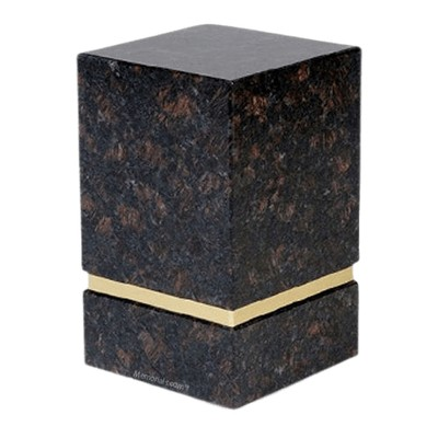 La Nostra Tan Brown Granite Urn