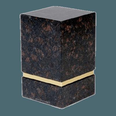 La Nostra Tan Brown Granite Urns