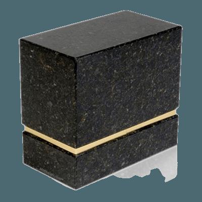 La Nostra Verde Granite Companion Urn