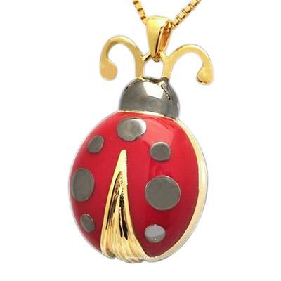 Ladybug Cremation Pendant II