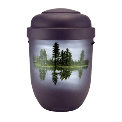 Lake & Forest Biodegradable Urn
