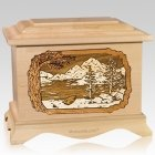 Lakeside Maple Cremation Urn