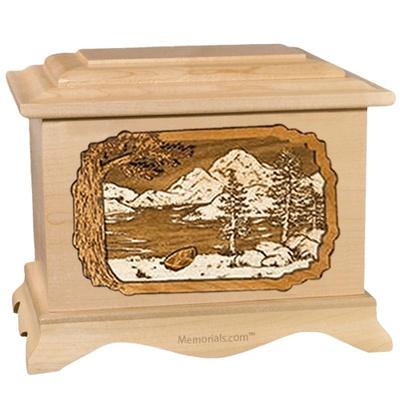 Lakeside Maple Cremation Urn