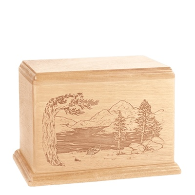 Lakeside Individual Maple Wood Urn