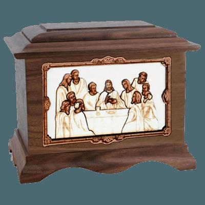 Last Supper Cremation Urns