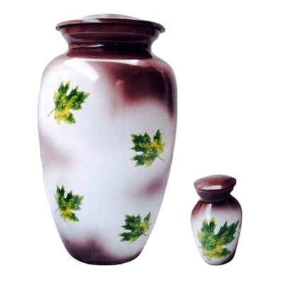 Leaves of Paradise Cremation Urns