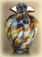 Dream Glass Pet Cremation Urn