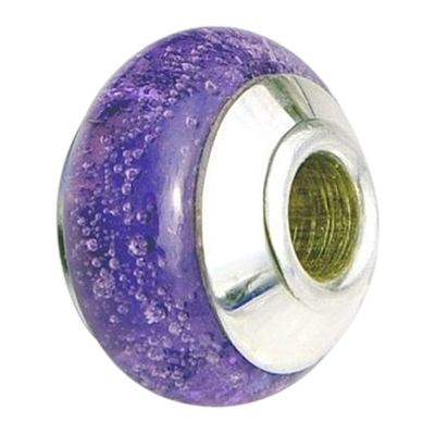 Lilac Fields Cremation Ash Bead