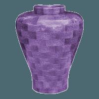 Lilac Large Wood Urn
