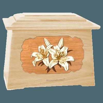 Lily Maple Aristocrat Cremation Urn