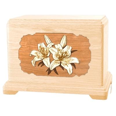 Lily Maple Hampton Cremation Urn