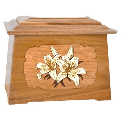 Lily Oak Aristocrat Cremation Urn