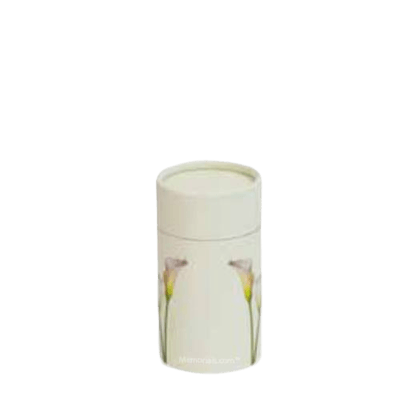 Lily Scattering Mini Biodegradable Urn