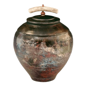 Limbolo Raku Cremation Urn