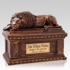 Lion Companion Cremation Urn