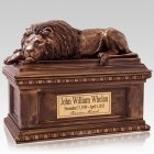 Lion Cremation Urns