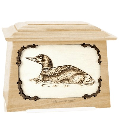 Loon Maple Aristocrat Cremation Urn