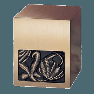 Lotus Bronze Cremation Urn