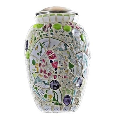 Love Mosaic Unique Urn