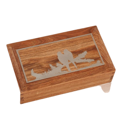 Love Wood Cremation Urns