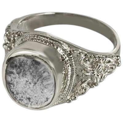 Lunette Cremation Ring III