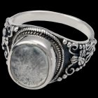 Lunette Cremation Ring