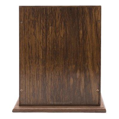 Luxurious Wood Cremation Urn