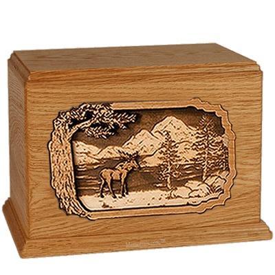 Moose Mahogany Companion Urn