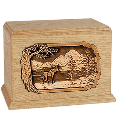 Moose Maple Companion Urn