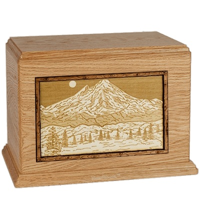 Mt Baker Oak Companion Urn