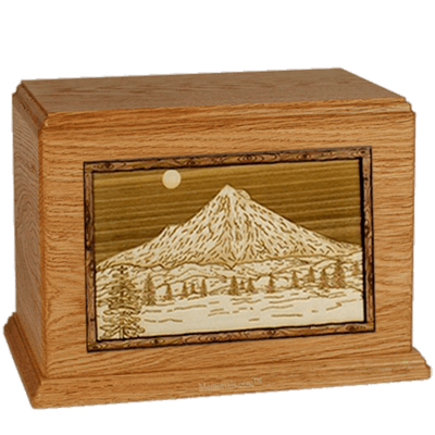 Mt Hood Mahogany Companion Urn