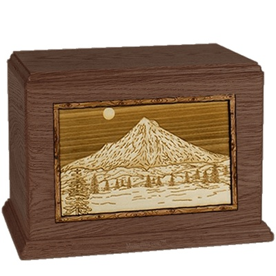 Mt Hood Walnut Companion Urn