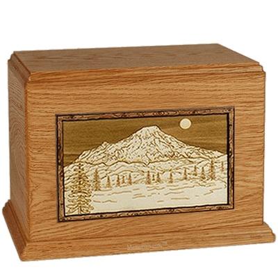 Mt Rainer Mahogany Companion Urn