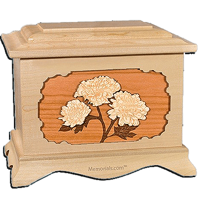 Mums Maple Cremation Urn for Two