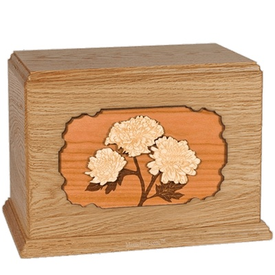 Mums Oak Companion Urn