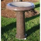 Granite Bird Bath