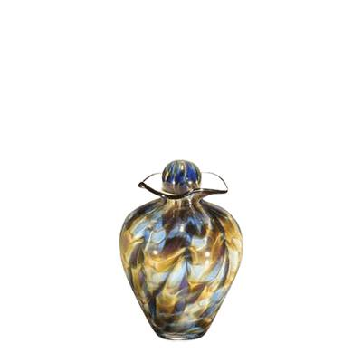 Maila Small Glass Cremation Urn
