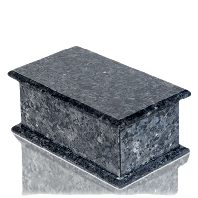 Maison Blue Pearl Granite Child Urn