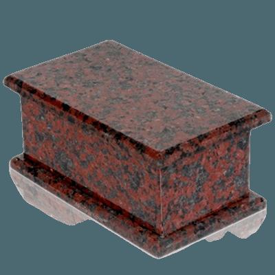 Maison Indian Red Granite Child Urn