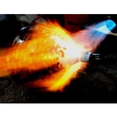 Noir Crackle Glass Cremation Urn