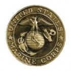 Marines Seal Medallion Appliques