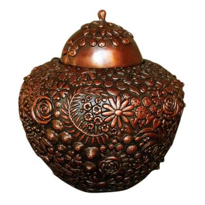 Meadow Bronze Pet Cremation Urn