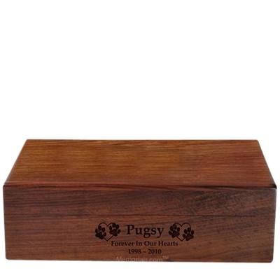 Memory Chest Pet Cremation Urn
