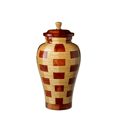 Memphis Medium Wood Urn