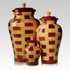 Memphis Wood Cremation Urns