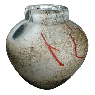 Mercury Glass Cremation Urn