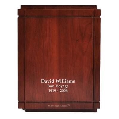 Metropolitan Wood Cremation Urn