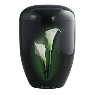Midnight Lily Biodegradable Urn