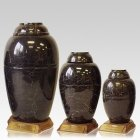 Midnight Marble Pet Urns