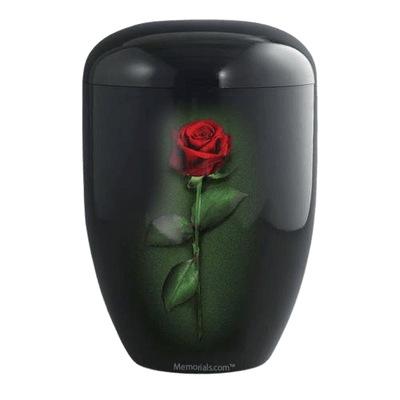 Midnight Rose Biodegradable Urn